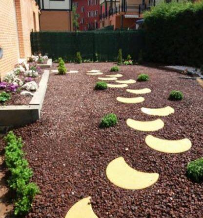 diseño de jardin minimalista