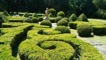 jardin clasico minimalista