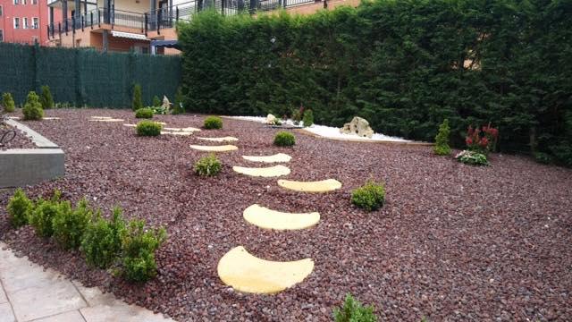 jardin minimalista creacion