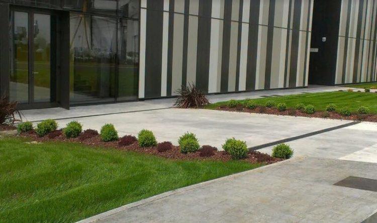 creacion jardin minimalista en Mungia