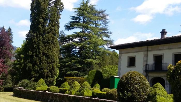 diseño de jardin clasico bizcaya