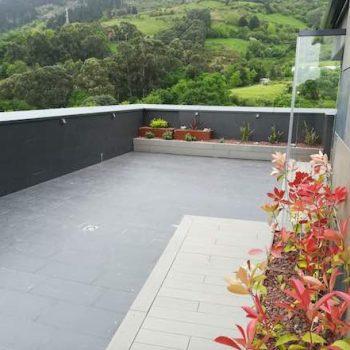 decorador de terrazas con grava bizkaia