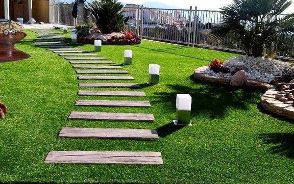 jardines de grava