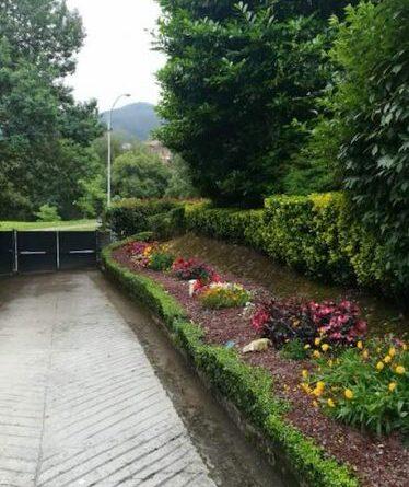 creacion de jardin con grava volcanica en mungia