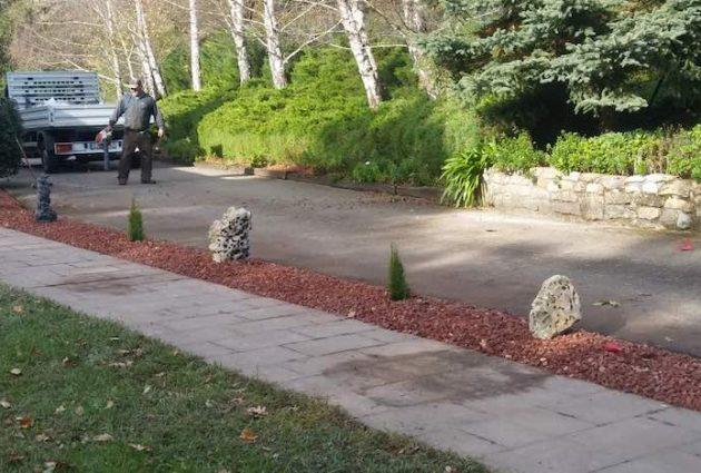decoracion jardin galdakao