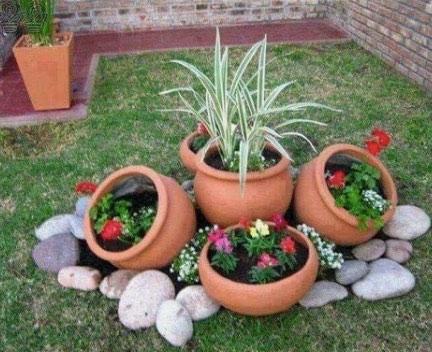 bolos decoracion jardines