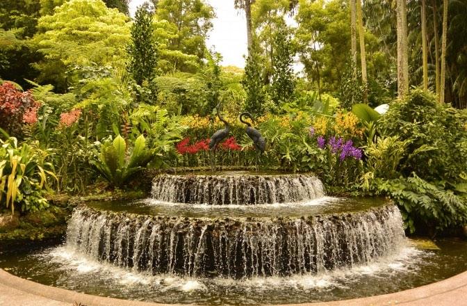 jardines sensoriales de agua